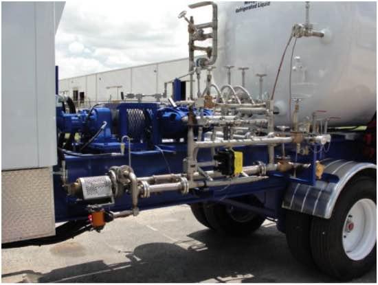 Nitrogen Pump And Vaporizer Units Well Services