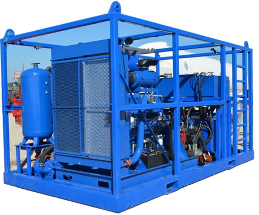 Nitrogen Pump and Vaporizer Units | well services equipment